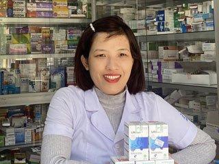 Quầy thuốc Linh Chi